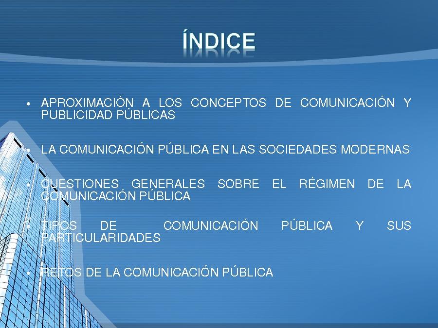 A comunicación e a publicidade na Administración